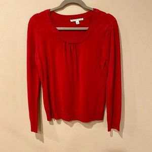 Red Long Sleeve Top - Small